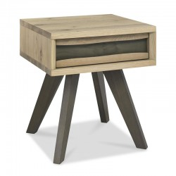 Caddy Lamp Table with drawer