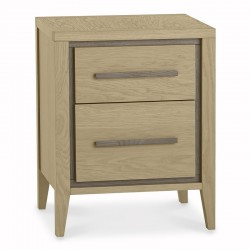 Jimini 2 drawer bedside