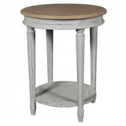 Valerie round lamp table