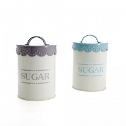 Lace Enamel Sugar Tin